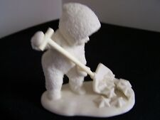 """Dept 56 Snowbabies """"So Much Work To Do #68373 Retired 1993-1998 w/o box"""