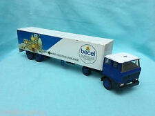 Lion Car Toys no. 50 / 36  Daf 2800 Truck with Trailer Becel
