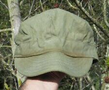 WW2 US Army Military HBT Field Uniform Fatigue Hat Cap Short Bill