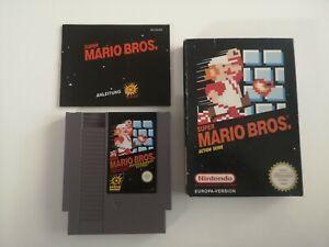 Nintendo NES - Super Mario Bros. in OVP und Anleitung