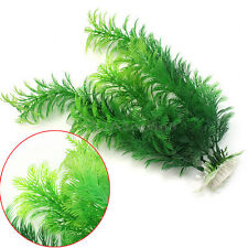 Plastic Artificial Aquarium Plants Ornament for Fish Tank Underwater Decoration
