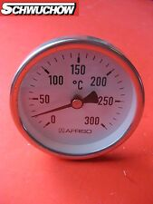 Rauchgas Thermometer 0-300°C 150mm lang Rauchgasthermometer Afriso Abgas 64238