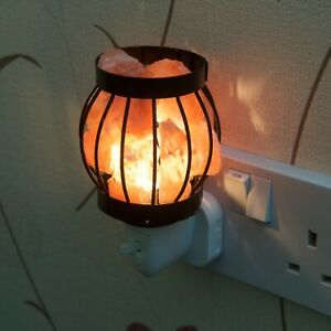 Natural Himalayan Rock Salt Electric Plug in Night Lamp Air Purification Boxed
