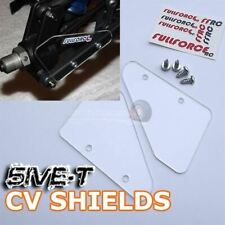 5IVE-T CV Shields (2) CLEAR For KM X2,Rovan LT,30 DNT,Losi 5ive-T/2.0
