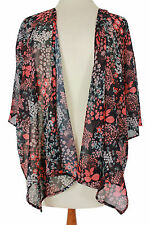 Waist Length 3/4 Sleeve Floral Jumpers & Cardigans for Women