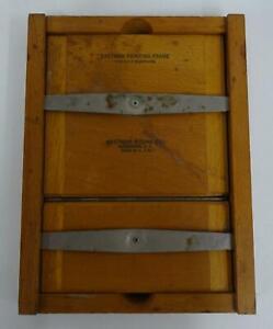Eastman Kodak Wooden Contact Printing Frame 5 x 7 Negatives