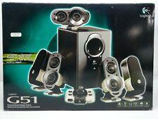Genuine Logitech G51 5.1 Surround Sound Speaker System Great Condition S-00028