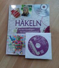 Buch häkeln Grundlagen mit Dvd neuwertig