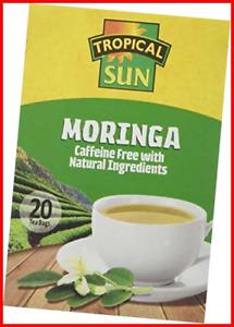Tropical Sun Tropical Sun Moringa Tea, 1 box of 20