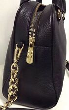 Chic!***NWT Michael Kors knox tassel Black Leather Tote Purse Bag satchel $328