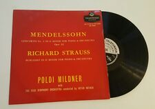 Mendelssohn: Concerto No. 1 In G Minor For Piano And Orchestra Richard Strauss