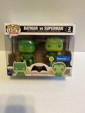 Batman Vs Superman 2 Pack Funko Pop! (Walmart)
