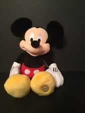 Disney Store Authentic Mickey Mouse Plush Doll 18-Inch New