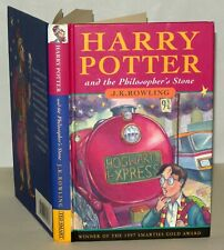 Harry Potter, Philosophers Stone, J.K Rowling, 1998 1st/3rd Hardback. Ted Smart