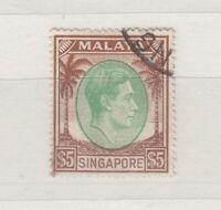 Malaya Singapore KGVI 1938 $5 SG15 VFU JK99