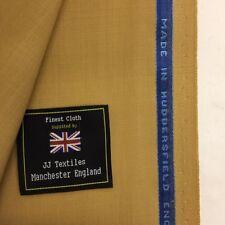 """Nouveau homme couleur Gris de Lin Herringbone drap tissu 60/""""153cm vêtement CRAFT"""