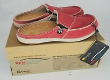 ThriftCHI ~ Spenco Comfort Sandals - Siesta Slide Nautical Red Size 6 w Box
