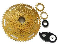 SunShine Gold 11S MTB Bike Wide Ratio Cassette 11-50T, w/ Wide Range Components