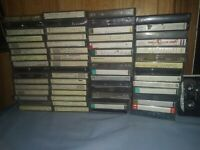 Lot 60 Cassette Tapes Pre-recorded Sold as Used Blanks - MAXELL, TDK Classic MIX