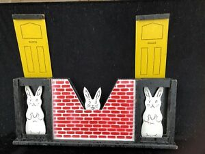 Vintage 'run rabbit run'  Supreme magic trick for childrens entertainers