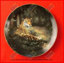 """The World's Most Magnificent Cats """"The Jaguar"""" Plate - MIB+COA by Frace"""