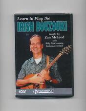 LEARN TO PLAY IRISH BOUZOUKI WITH ZAN MCLEOD DVD *NEW*