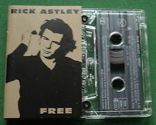 Rick Astley Free inc Never Knew Love & Cry for Help + Cassette Tape - TESTED