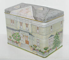 SUTTER HOME WINERY Napa California House Building Tin Box Container Canister 5+""