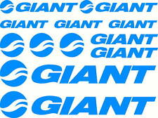 Set of 12 Giant Bicycles Mountain Bike Sticker Decals