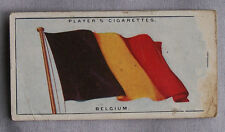 1928 John Player & Sons Flags of The League of Nations Belgium Cigarette Card