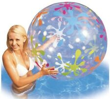"GIANT BEACH BALL 48"" pool jumbo bestway round inflatable swimming"