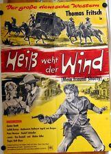 HEISS WEHT DER WIND (Pl. '64) - THOMAS FRITSCH / GUSTAV KNUTH / WESTERN
