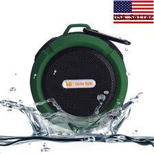 Waterproof Wireless Bluetooth Handsfree Suction Cup Mini Shower Speaker Green