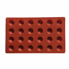 24 Half Ball Sphere Silicone Mould Chocolate Fondant Jelly Ice Cube Mold