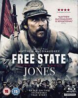 Free State of Jones [Blu-ray] [2016] [DVD][Region 2]