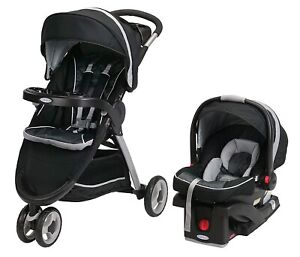 Graco Baby FastAction Fold Sport Click Connect Travel System Gotham New