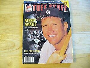 Tuff Stuff Magazine - November 1995 - Mickey Mantle - VINTAGE