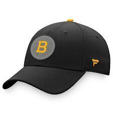 Boston Bruins Fanatics Branded Details Flex Hat - Black