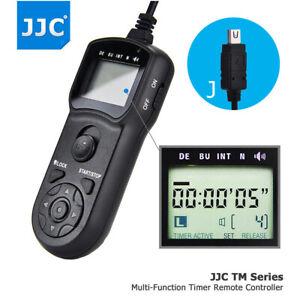 JJC Wired LCD Timer Remote for Olympus E-PL9 E-PL8 E-PL7 E-PL6 E-M10 II E-M5