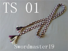 3 M Top Grade Synthetic Silk Saya Sageo Japanese Tachi Sword Katana Wakizashi