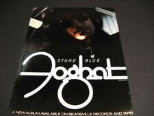 Foghat Stone Blue is available on Bearsville Records/Tapes 1978 Promo Poster Ad