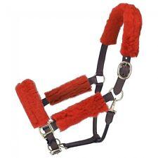 Tough 1 Red Halter Fleece Tubing Kit horse tack equine 60-997