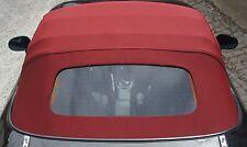 MAZDA MX-5 NB NA Stoff Verdeck Dach rot dunkelrot weinrot STOFFVERDECK Luxus!
