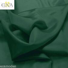 TAFT leichte GLANZ Futterstoff Stoffe Dekostoff Kleiderstoff Meterware grün
