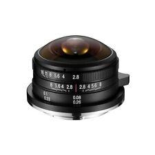 LAOWA 4 mm f/2,8 Circular Fisheye Objektiv für MFT 210 Grad Bildwinkel M43