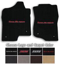 Trailblazer 2pc Classic Loop Carpet Floor Mats - Choose Color & Logo