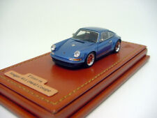 1/64 Make Up Company TM001D Singer Porsche 911/964 Coupe Ice Blue Met. Miniwerks