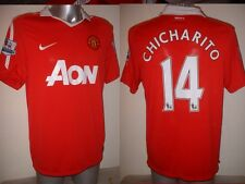 Manchester United Nike jersey shirt chicharito grand top soccer football mexique