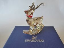 Swarovski Winter Reindeer Figurine New in Box Retired