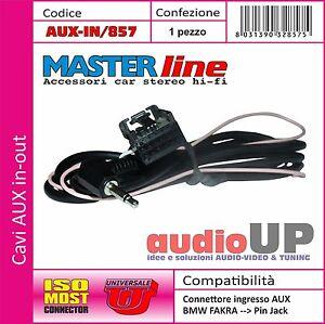 Festnight Adattatore Cavo Audio AUX 10Pin CD BT per BMW E46 1999-2006